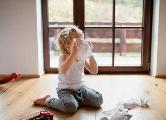 Co zrobić, gdy dziecko złapie przeziębienie
